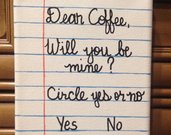 Coffee Love Note