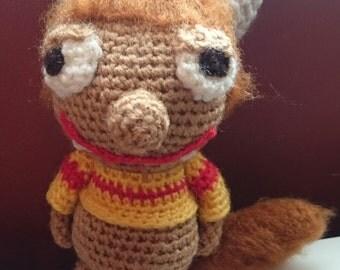 crochet cute monster
