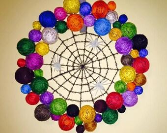 yarn spider web