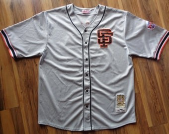 Vintage San Francisco Giants Jersey Men Size 56 Gray Cooperstown Collection 1988 Will Clark #22