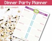 Dinner Party Planner - Pr...