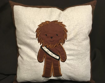 Chewbacca, Chewy, Starwars, Chewy Pillow, Chewbacca Pillow, Starwars Pillow