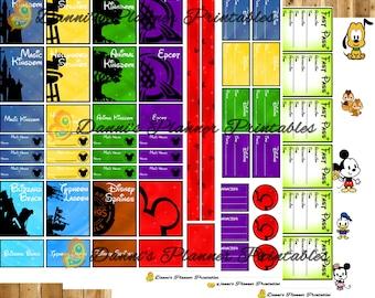 Walt Disney World Two Week Printable Planning Planner Kit!