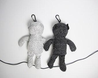 Reusable shopping tote (foldable into a teddybear)
