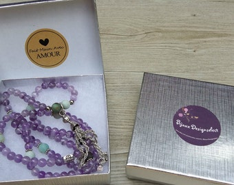 """Gift Box mala to add to your order - Identified """"Especially for you"""" inside"""