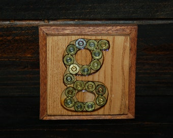 Monogrammed Wood Coasters (1 set of 4)
