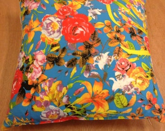 Cushion cover 40 X 40 / 60 X 60 pattern flowers