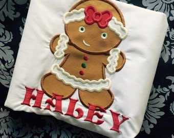 Gingerbread Girl Shirt
