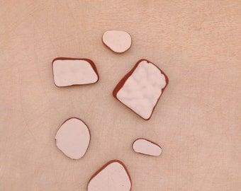 Sea Pottery series White