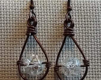 Ice Shoe Earrings