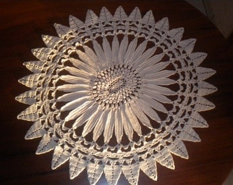 Doily, table Sun top.