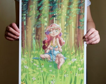 Springtime - A3 Print