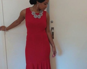 The Red Roxanne Dress