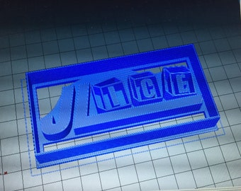 Company Logo Cookie Cutter