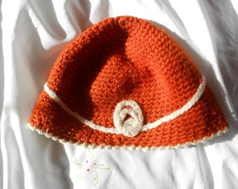 Wool crochet Hat
