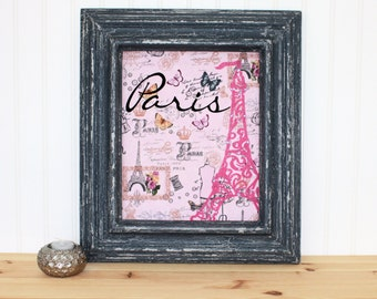 Paris Shabby Chic Art/Paris/ Paris Lover