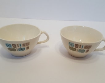 Canonsburg Pottery Temporama Tea Cup