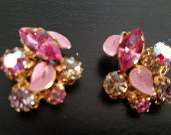 Vintage clip Earrings Austria