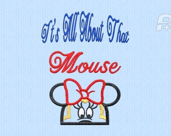 It's all about that mouse applique