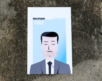 Mad Men Don Draper Print