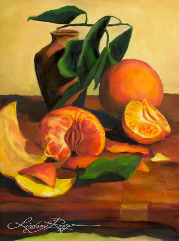 Taste of Oranges - Print