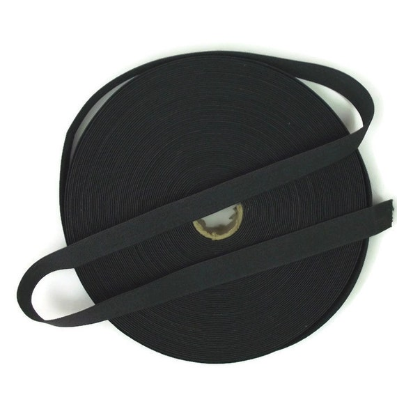 20 Meters Dark Grey 1 inch (25mm) Suspender Webbing / Waistband Elastic