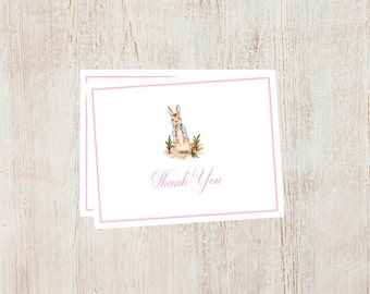 Peter Rabbit Thank You Cards