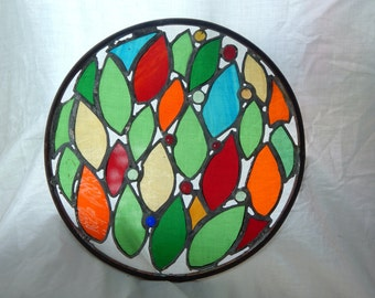 Stained Glass- Fall Colours