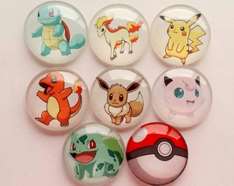 Pokemon Magnets - Choose your favourite Pokemon Characters