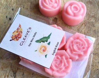 English Rose Scented Soy Wax Melts