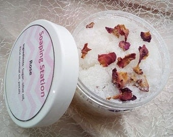 Rose face and body scrub 150ml