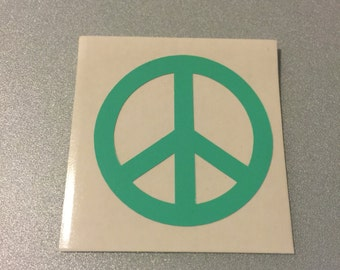 Iron on Vinyl Peace Sign