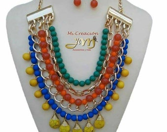 fashion necklace and earrings  perfect for every occasion