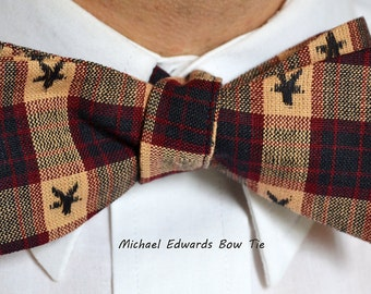 Plaid Bow Tie, Star Bow Tie, Bow Ties for Men, Self Tie Bow Tie, Mens Bow Tie, Red Bow Tie, Blue Bow Tie, Bow Ties, Mens Bowties, Bow Tie