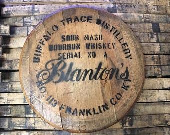 Blanton's Bourbon Barrel Head