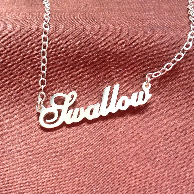 baby name necklace gold name necklace carrie necklace