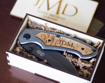 Groomsmen Gift Set, Set of 7 Personalized Pocket Knives Personalized Knife for Groomsmen - Knife Gift Set