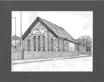 The Triangle Church, Bolton, Lancashire.
