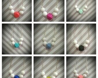 Cute and Simple Teething/Nursing Necklace