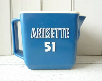French water jug, 70's, Anisette 51.