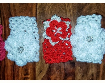 Handmade crochet hairbands
