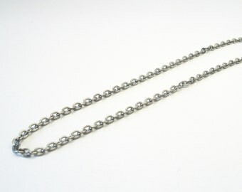 Stainless steel structure chain 42cm necklace stainless steel chain