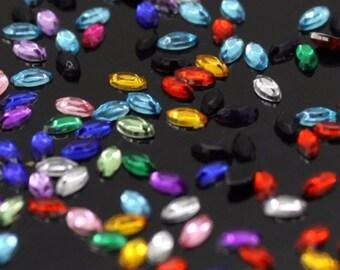 rhinestones, nail art rhinestones, Mix color, diamond Rhinestones,  nail art
