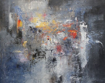 """Abstract 48""""x48"""" (1116)"""