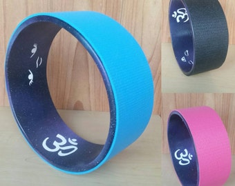"Yoga Wheel 12""- Universe Om Design"