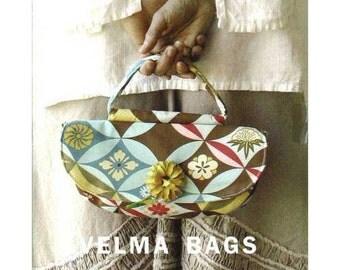 VELMA BAGS Amy Butler Sewing Pattern – Handbag Pattern, Purse Pattern – Quilt Pattern, Craft Pattern, Handbag, Shoulder Bag, Fabric Purses