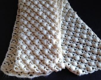 Scarf scarf woman cream