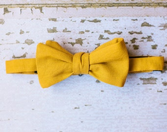 Mens Honey Bow Tie