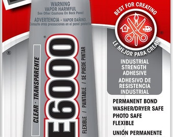 E6000® Craft Adhesive 3.7 oz~ Glue