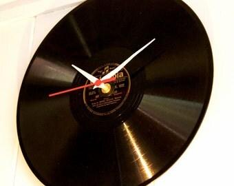 "Genuine 12"" Vinyl Record Clock"